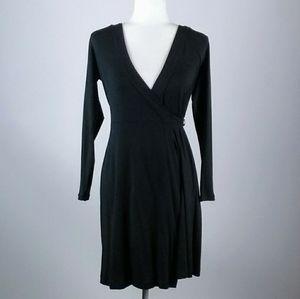 Banana Republic black wrap dress size XS